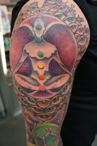 chakra and orb man
