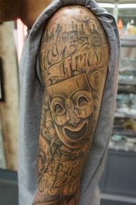 Top arm
