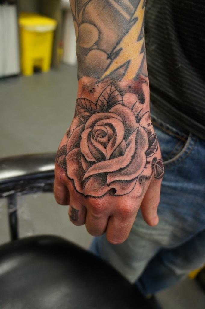 Rose Tattoo Roddy Mclean Tattooer